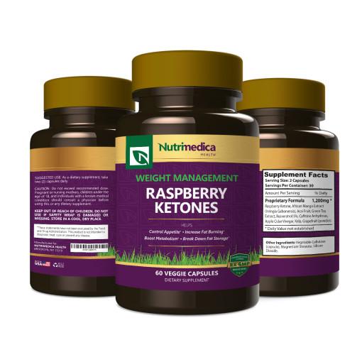 Raspberry Ketones 3 Bottle View
